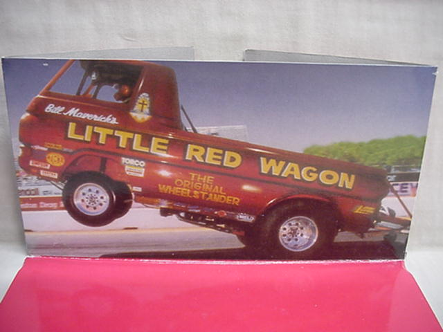 Little red wagon bill maverick golden johnny lightning 1 24 cast dodge